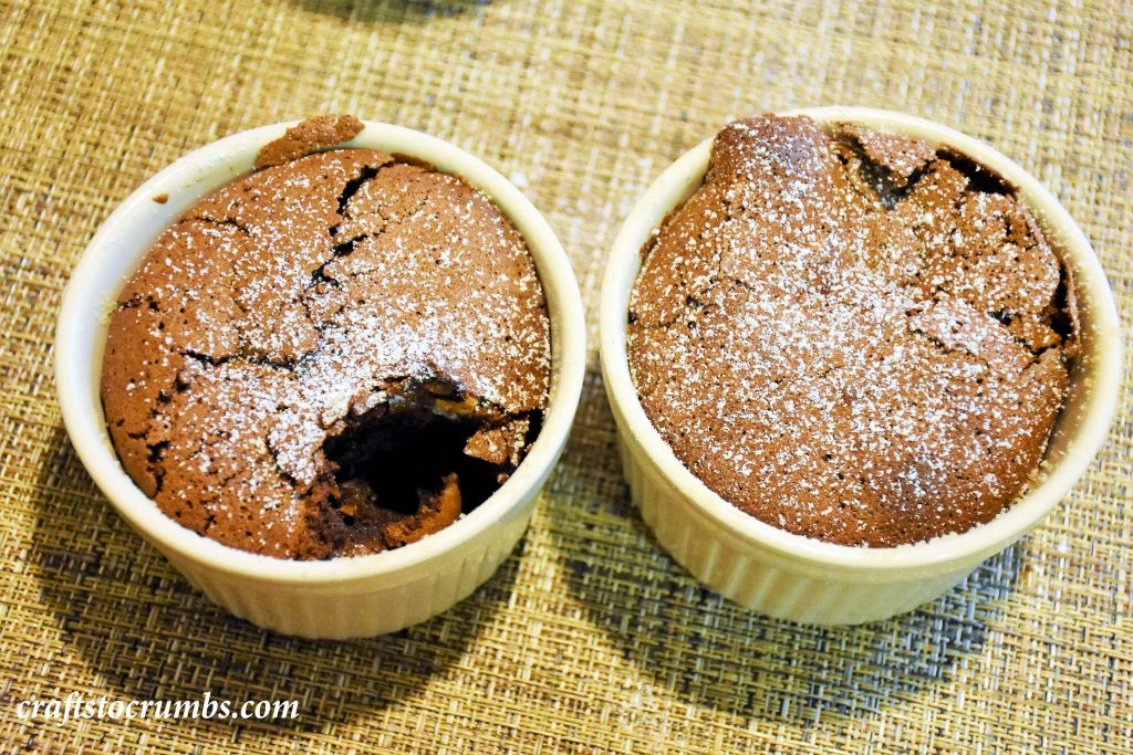 Crafts to Crumbs Flourless Chocolate Souffle CTC