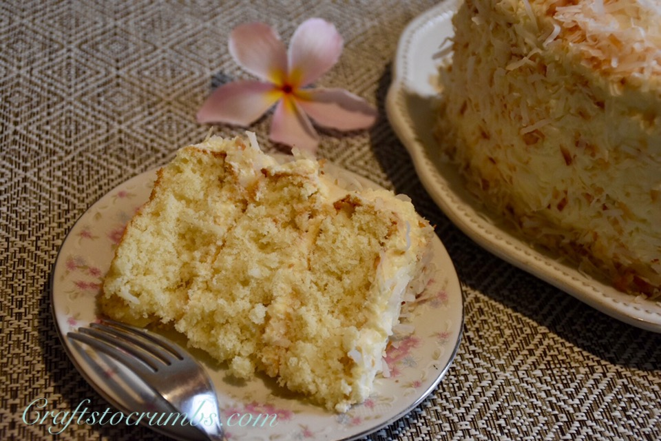 Coconut Cake Craft To Crumbs
