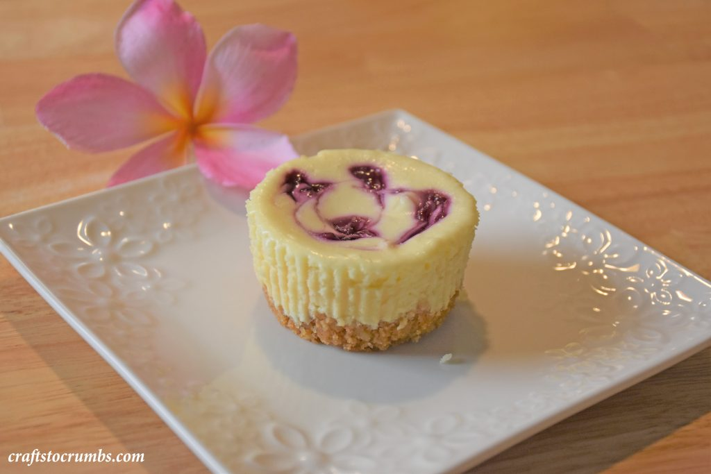 Crafts to Crumbs Mini Cheesecake