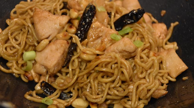 Kung Pao Chicken Noodles Craftstocrumbs