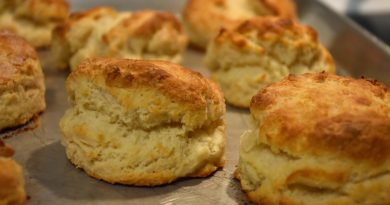 Biscuits Baked Crafts To Crumbs