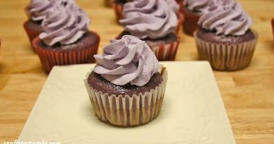 ube cupcakes craftstocrumbs
