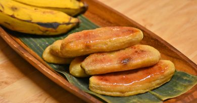 Honey Roasted Bananas Crafts to Crumbs